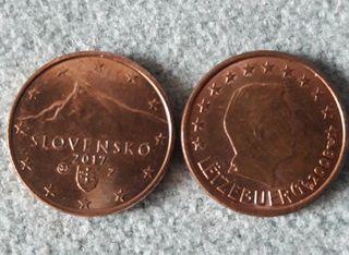 Monedas de 1 céntimo de € para cambiar
