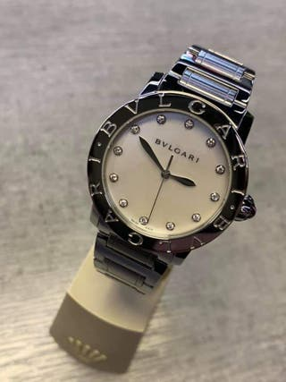 Reloj Bvlgari diamantes