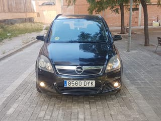Opel Zafira 2006 pegatina ambiental 7 plazas