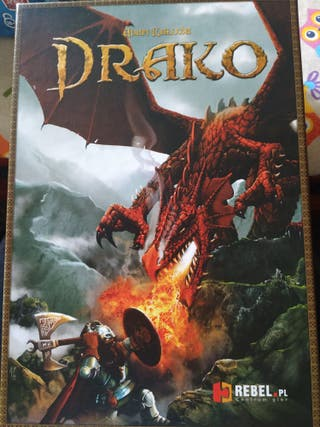 juego de mesa Drako