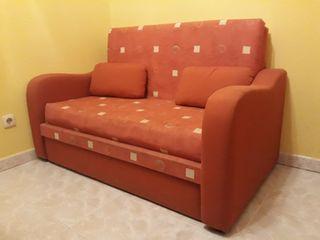 Sofá cama 2 plazas.
