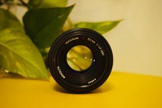 Objetivo 50mm f1.7