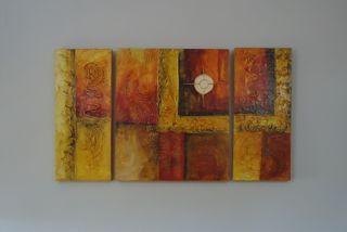 Cuadro pintado composicion