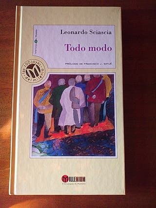 "LIBRO:""TODO MODO"" DE LEONARDO SCIASCIA"