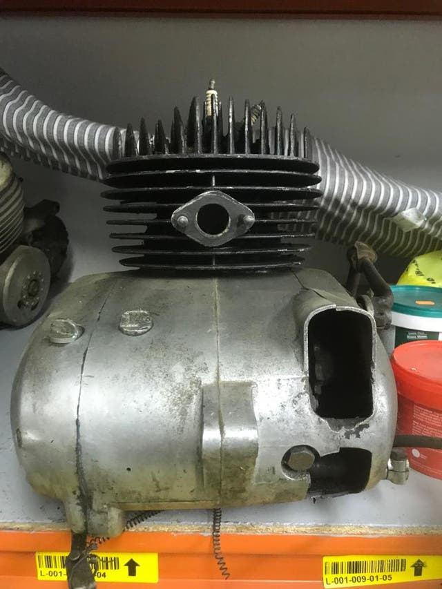 Motor Montesa King Scorpion 250cc