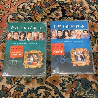 Serie dvd FRIENDS 6 y 8 temp.