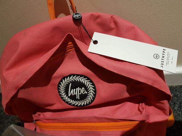 Backpack Just hype Original Pink