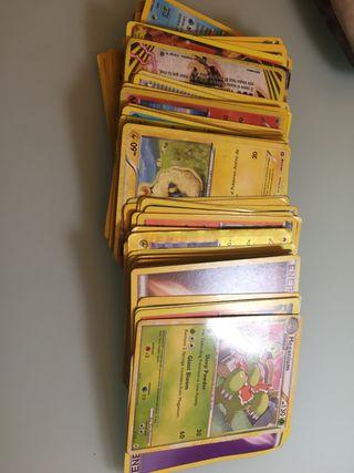 Cromos Pokémon desde 2010 hasta 2015