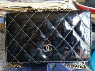 Bolso original Chanel charol