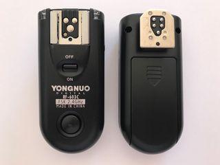 Transmisor y receptor para flash a distancia
