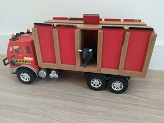Camión para toros....juguetes