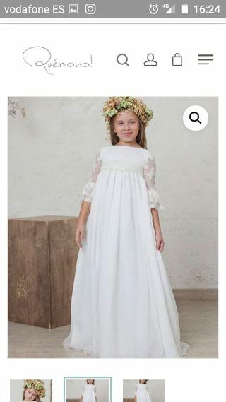 vestido nuevo comunión