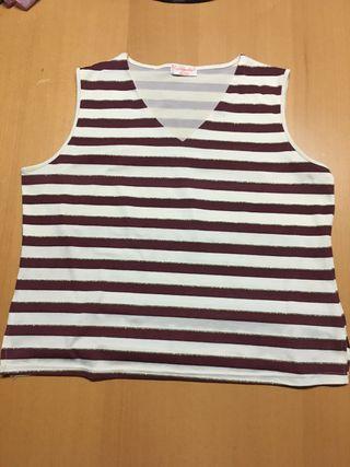 Camiseta de tirante ancho talla XL/XXL