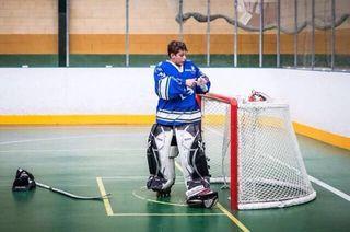 ¡Equipacion Portero De Hockey Hielo!
