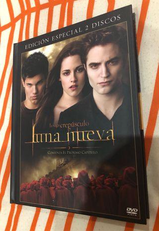 Edición Especial DVD Luna Nueva Stephanie Meyer