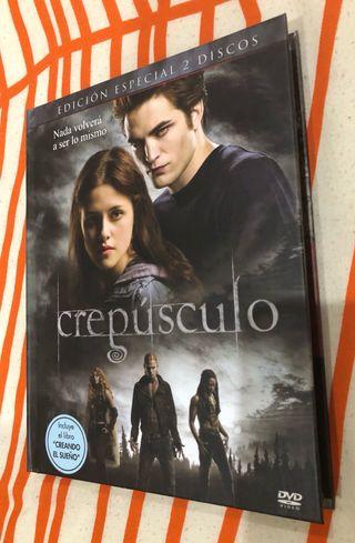 Edición especial DVD Crepúsculo Stephanie Meyer