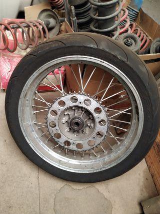 Kit ruedas SM Supermotard KTM