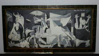 Cuadro puzzle del Guernica