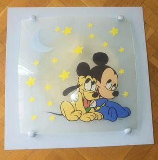 lámpara de Mickey mouse