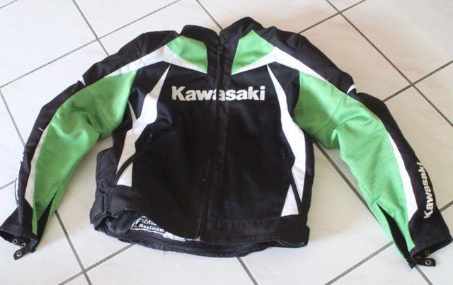 Chaqueta moto Kawasaki