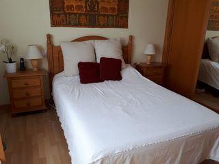 Dormitorio rústico completo pino macizo