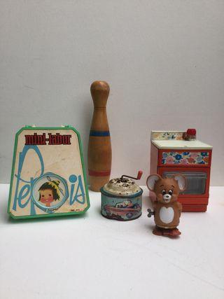 Lote de juguetes antiguos