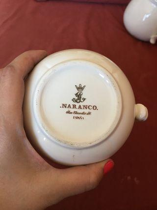Completa vajilla café marca Naranco San Claudio