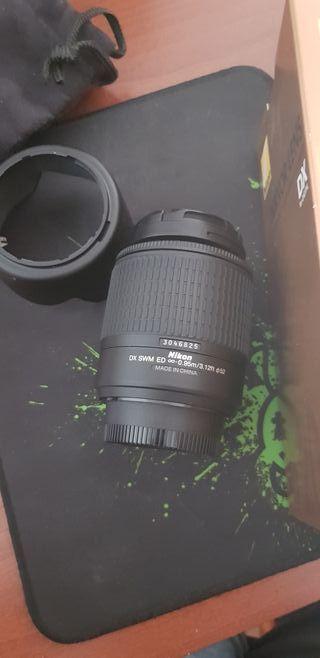 Objetivo Nikon 55 - 200