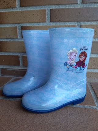 Bota agua niña Frozen talla 29