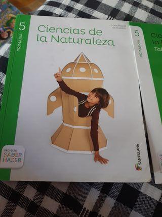 Libro de Ciencias d la naturaleza para 5 primaria