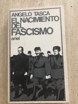 Libro El nacimiento del fascismo