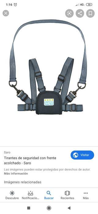tirantes de seguridad
