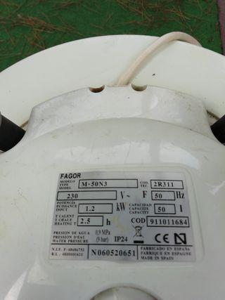 calentador eléctrico 50 litros