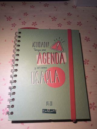 agenda escolar 19 -20