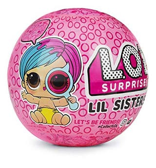 l.o.l surprise lil sisters dolls.