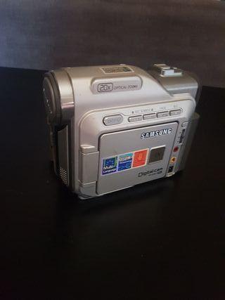 cámara video samsung