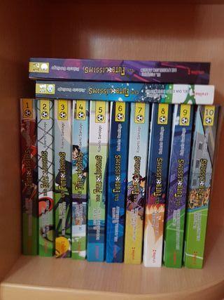 colección libros futbolissims