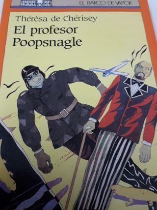 El profesor Poopsnagle. Theresa de Chérisey