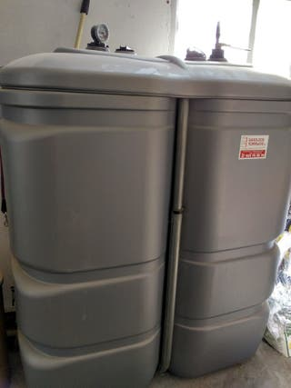 depósito de gas oil 1000 litros