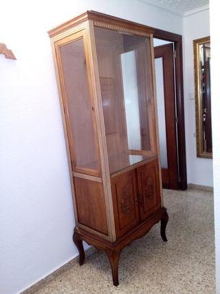 Mueble vitrina vintage
