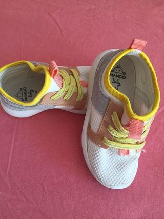 Zapatillas mango niña. T23