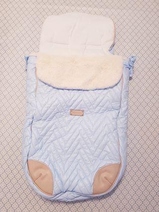 Saco carrito bebé Mayoral Azul