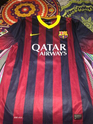 Camiseta Fc Barcelona original talla M Iniesta.