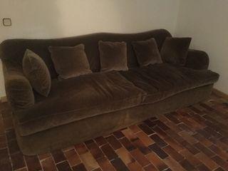 Sofa de Terciopelo de Becara