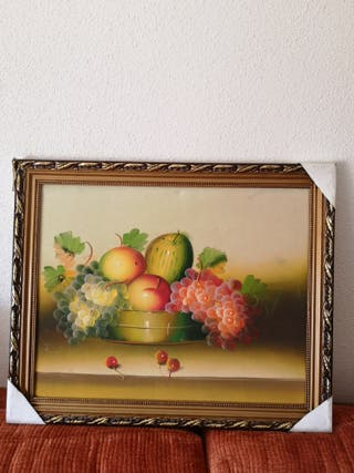 Cuadro decorativo frutas