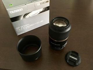 Objetivo Tamron SP 90mm f/2.8 Di Macro 1:1 VC USD