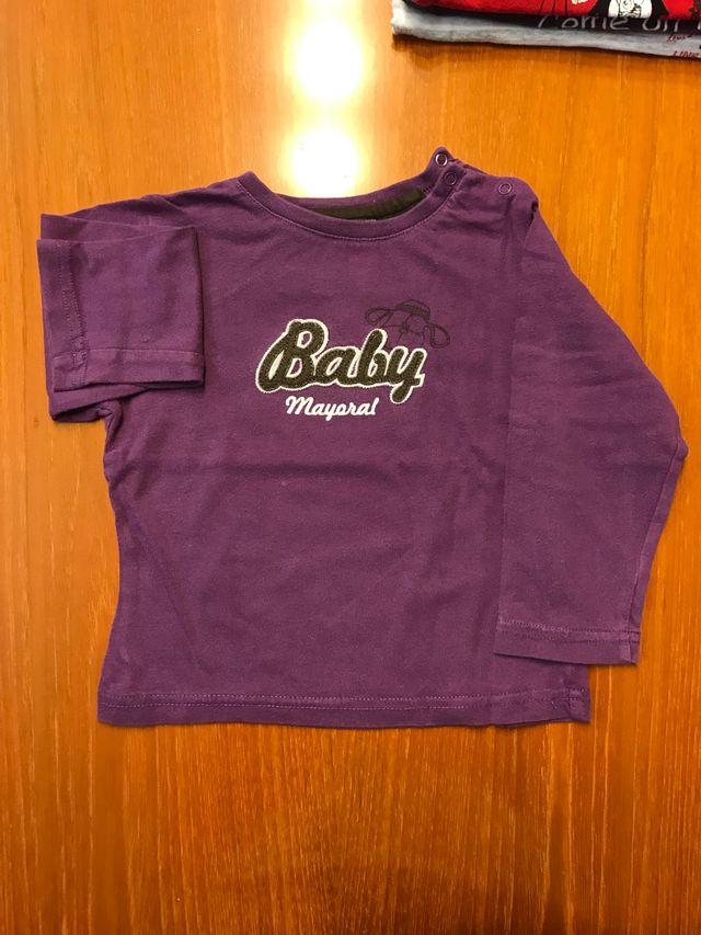 2 camisetas MAYORAL 18 meses