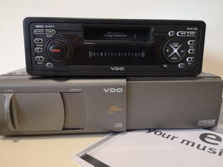 Radio Cassete VDO cr441xed- opel part nº 93171463
