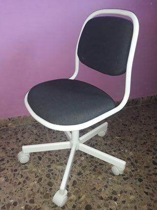 silla infantil escritorio