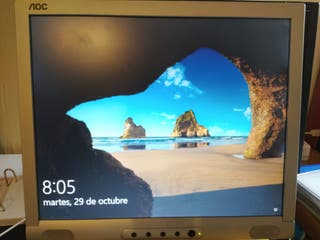 """Monitor AOC 17"""". Pantalla ordenador."""
